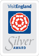 Visit England - Awarded Silver Accommodation